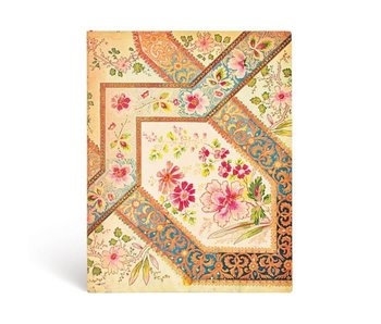 PAPERBLANKS JOURNAL FLEXIS FILIGREE FLORAL IVORY ULTRA LINED