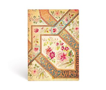 PAPERBLANKS JOURNAL FLEXIS FILIGREE FLORAL IVORY  LINED