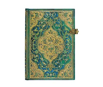 PAPERBLANK JOURNAL TURQUOISE CHRONICLES MINI UNLINED