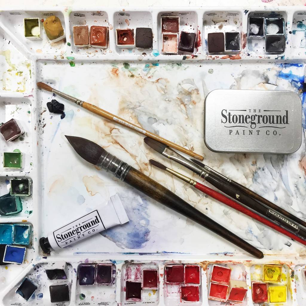 Limited Time Online Discount on Stoneground Watercolours!