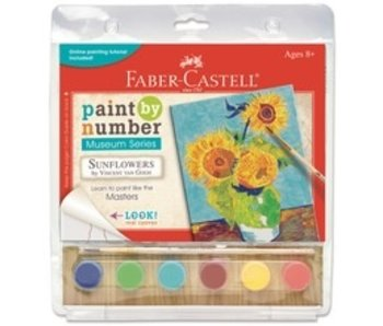 FABER CASTELL FABER CASTELL PAINT BY NUMBER MUSEUM SERIES: SUNFLOWERS VAN GOGH