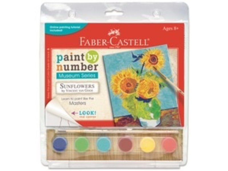FABER CASTELL PAINT BY NUMBER MUSEUM SERIES: SUNFLOWERS VAN GOGH