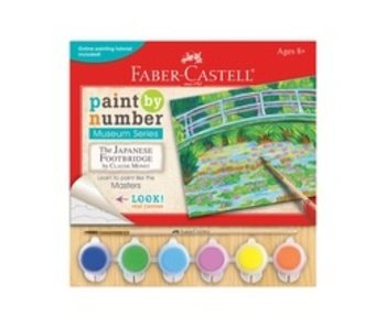 FABER CASTELL FABER CASTELL PAINT BY NUMBER MUSEUM SERIES: JAPANESE FOOTBRIDGE