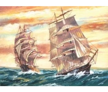 REEVES REEVES PAINT BY NUMBER SAILING SHIPS