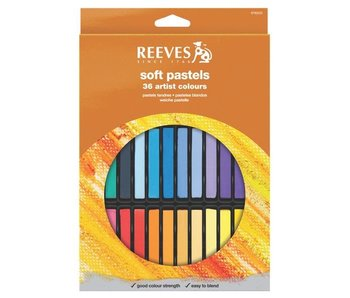 REEVES SOFT PASTEL 36 SET