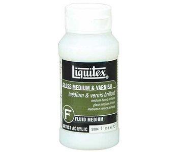 Liquitex Gloss Medium & Varnish - 118ml (4 oz)