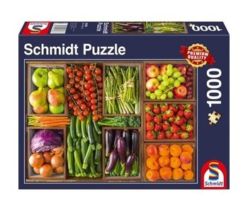 SCHMIDT SCHMIDT PUZZLE 1000: FRESH FROM THE MARKET