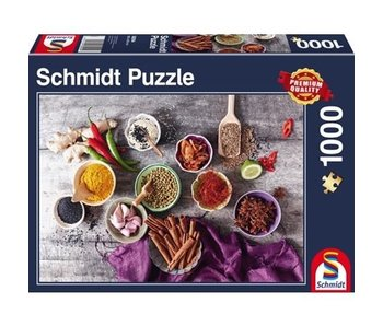 SCHMIDT PUZZLE 1000: SPICE CREATION
