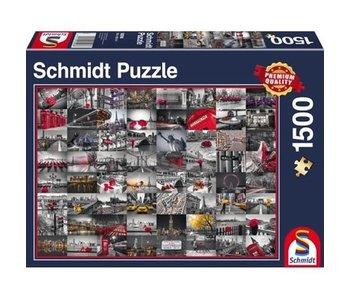 SCHMIDT SCHMIDT PUZZLE 1500: CITY IMAGES