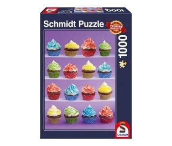 SCHMIDT PUZZLE 1000: CUPCAKE DELIGHT