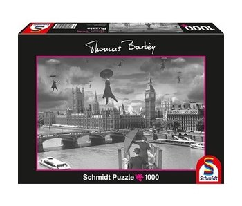 SCHMIDT PUZZLE 1000: THOMAS BARBEY - INDOOR CANAL