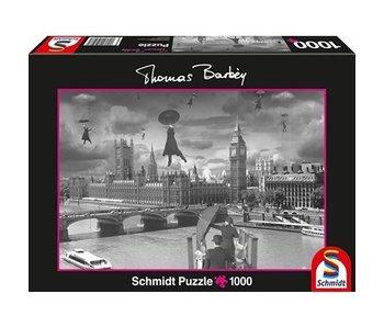 SCHMIDT SCHMIDT PUZZLE 1000: THOMAS BARBEY - INDOOR CANAL