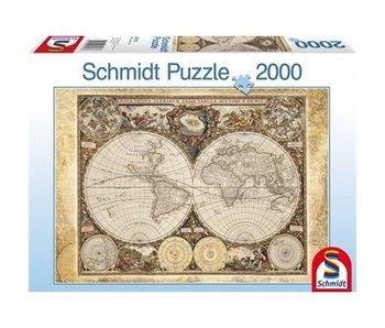 SCHMIDT SCHMIDT PUZZLE 2000: HISTORICAL MAP OF THE WORLD