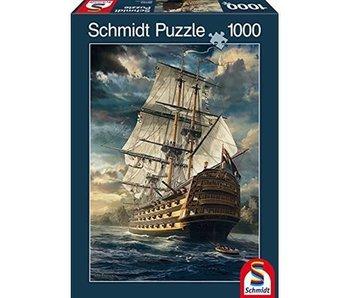 SCHMIDT PUZZLE 1000: SAILS SET