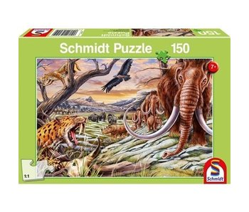 SCHMIDT PUZZLE 150: ANIMALS OF THE ICE AGE