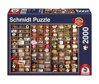 SCHMIDT SCHMIDT PUZZLE 2000: MINIATURE TREASURES