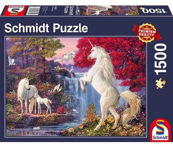 SCHMIDT SCHMIDT PUZZLE 1500: TRIUMPH OF THE UNICORNS