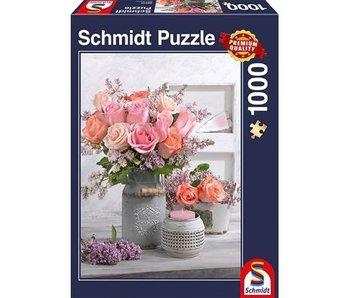 SCHMIDT PUZZLE 1000: RUSTIC ROSES