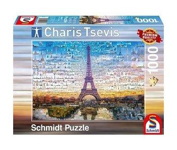 SCHMIDT PUZZLE 1000: PARIS, CHARIS TSEVIS