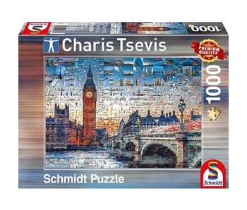SCHMIDT PUZZLE 1000: LONDON, CHARIS TSEVIS