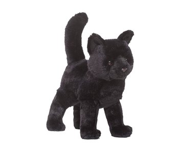 DOUGLAS CUDDLE TOY PLUSH MIDNIGHT BLACK CAT