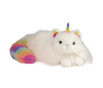 DOUGLAS PLUSH CUDDLE TOY ZIGGY CATICORN RAINBOW FUZZLE
