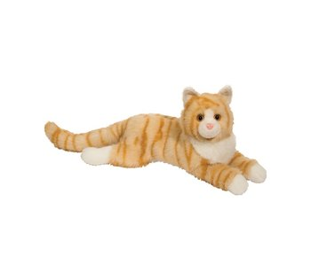 DOUGLAS CUDDLE TOY PLUSH MARMALADE ORANGE STRIPE CAT