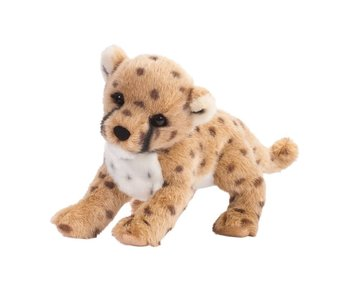 DOUGLAS CUDDLE TOY PLUSH CHILLIN' CHEETAH CLUB CAT