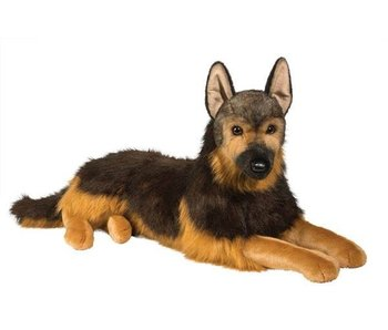 DOUGLAS CUDDLE TOY DOUGLAS CUDDLE TOY PLUSH MAJOR GERMAN SHEPHERD DOG, LG