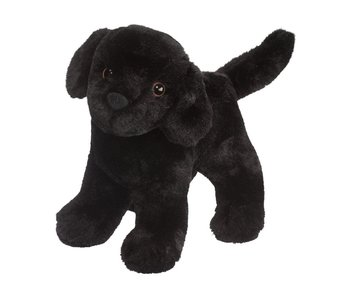 DOUGLAS CUDDLE TOY PLUSH ABRAHAM BLACK LAB DOG
