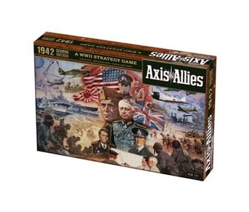 AXIS & ALLIES WWII STRATEGY GAME - 1942 2ND EDITION