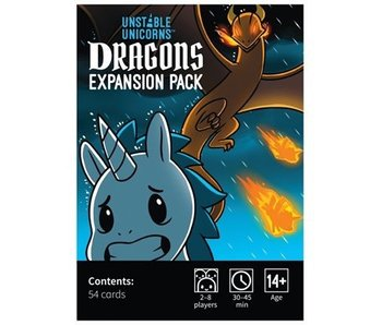 UNSTABLE UNICORNS GAME - EXPANSION: DRAGONS