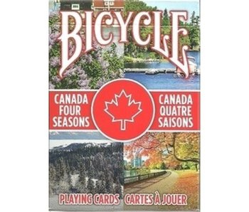 BICYCLE PLAYING CARDS: CANADA FOUR SEASONS