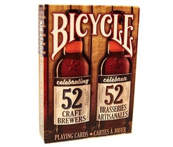 BICYCLE PLAYING CARDS: CRAFT BEER - SPIRIT OF NORTH AMERICA