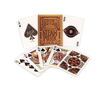BICYCLE PLAYING CARDS: STEAMPUNK