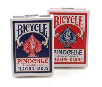 BICYCLE PLAYING CARDS: PINOCHLE 48 DECK