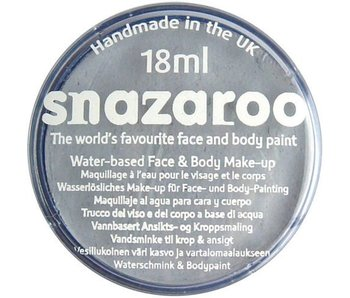 SNAZAROO FACE PAINT CARDED 18ML LIGHT GREY