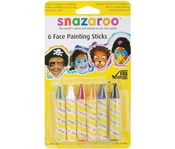 SNAZAROO FACE PAINTING STICKS UNISEX