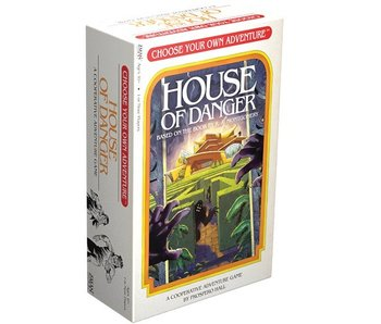 CHOOSE YOUR OWN ADVENTURE: HOUSE OF DANGER - COOPERATIVE BOARDGAME