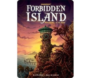 FORBIDDEN ISLAND GAME TIN