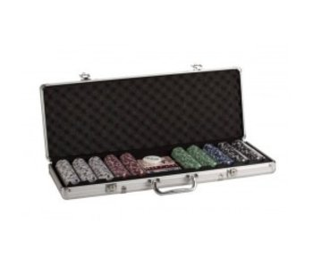 POKER SET 500 PC ALUMINUM CASE