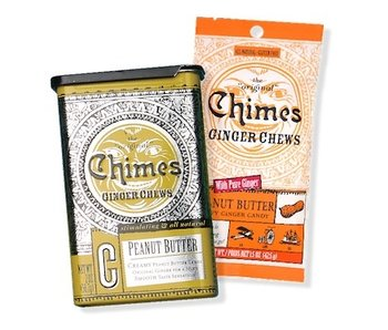 CHIMES GINGER CHEWS 1.5OZ BAG: PEANUT BUTTER