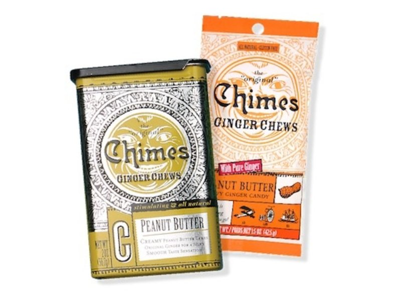 CHIMES GINGER CHEWS 1.5OZ BAG: PEANUT BUTTER