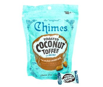CHIMES GINGER CHEWS 3.5OZ BAG TOASTED COCONUT TOFFEE