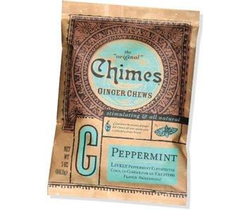 CHIMES GINGER CHEWS 5OZ BAG PEPPERMINT