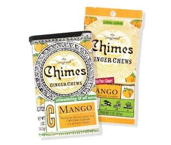 CHIMES GINGER CHEWS CANDY MINI BAG MANGO