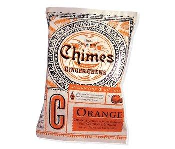 CHIMES GINGER CHEWS CANDY MINI BAG ORANGE