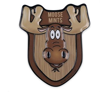 MOOSE MINTS PEPPERMINT TIN