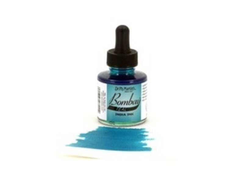DR. MARTIN BOMBAY INDIA INK 1OZ TEAL