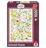 SCHMIDT SCHMIDT PUZZLE 1000:  WILDFLOWERS